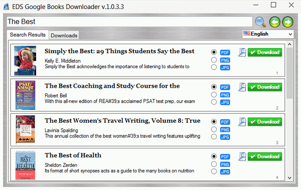 EDS Google Books Downloader. Click to see the full-size image.